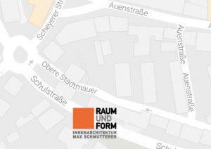 Stadtplan Raum und Form Pfaffenhofen