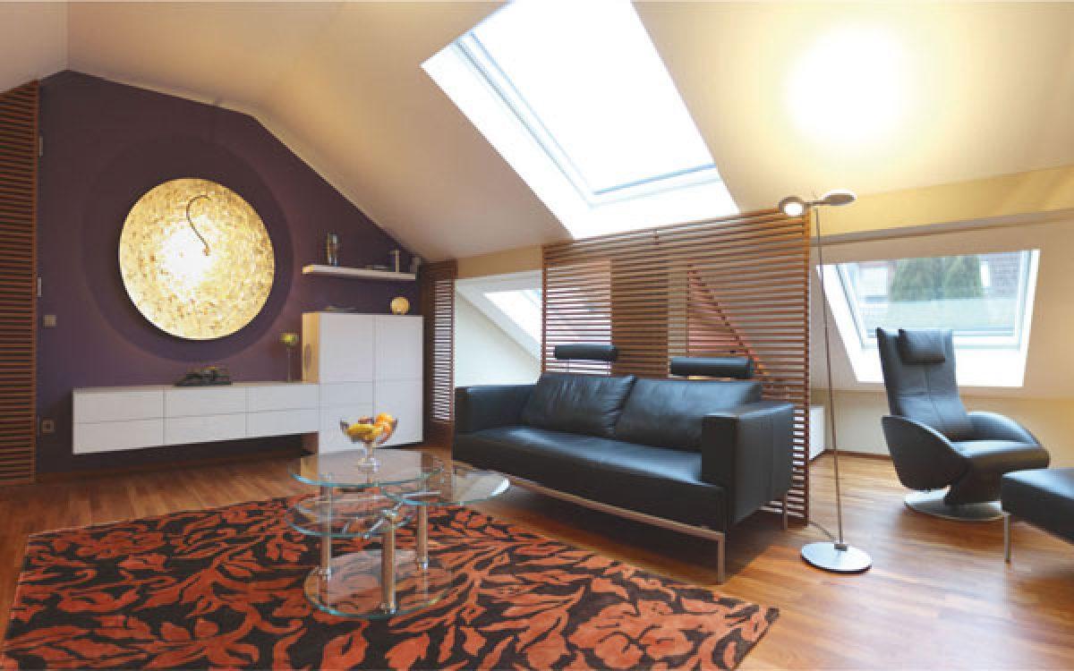 Innenarchitektur Umbau Dachgeschoss: Wohnraum mit Anspruch