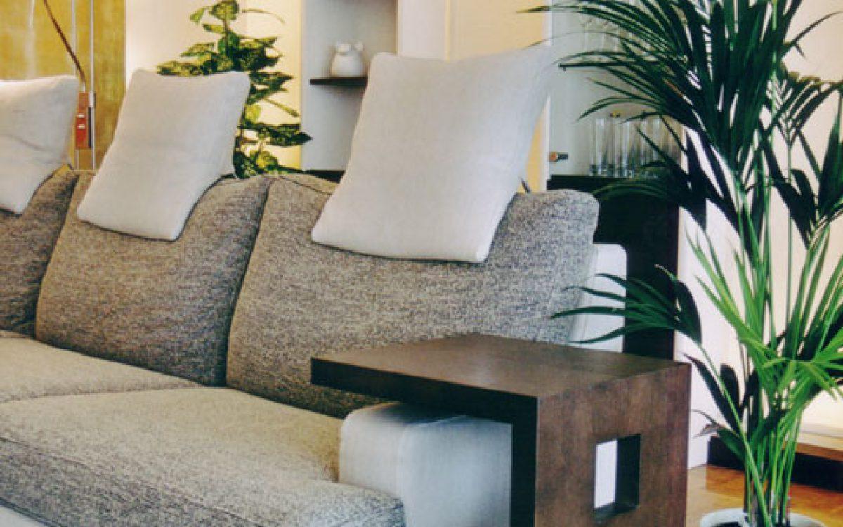 Innenarchitektur Wohnraum: Einrichtung und Raumteiler
