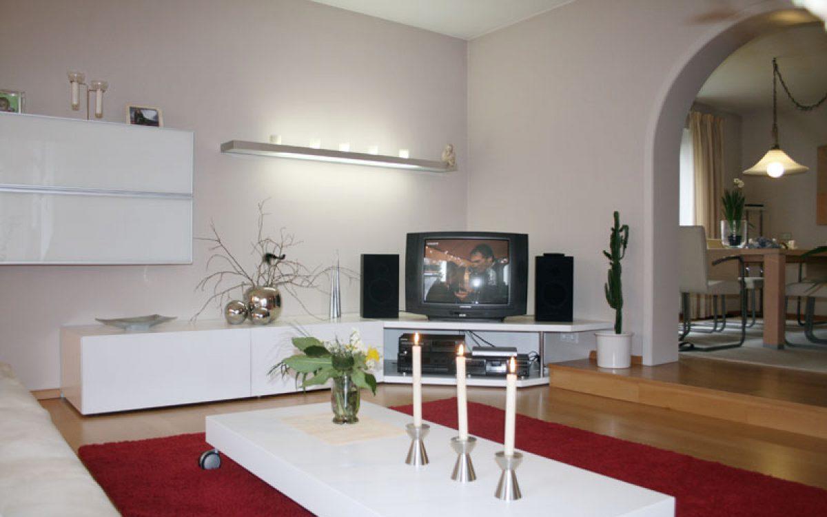 Gesamtkonzept Wohnzimmer: Einrichtung und Austattung