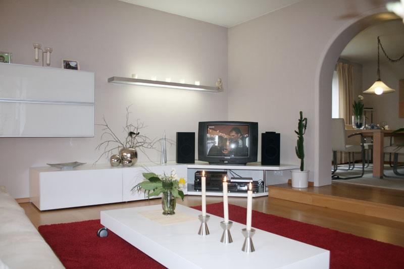 Gesamtkonzept Wohnzimmer Einrichtung Und Austattung