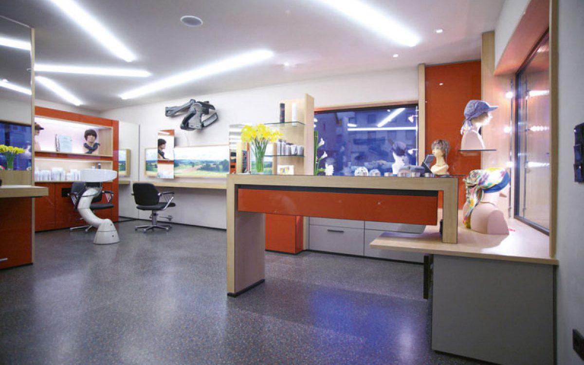 Innenarchitektur Sanierung: Friseursalon