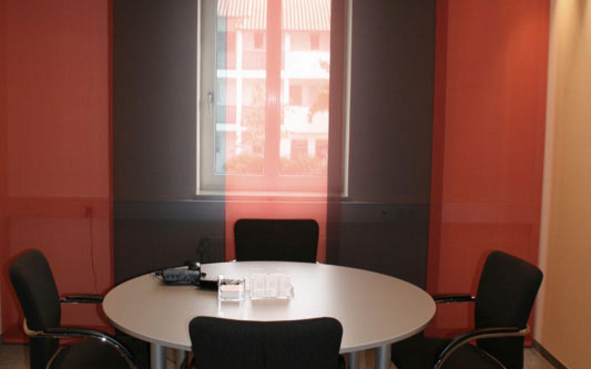 Renovierung Büroräume: Kleiner Meetingraum