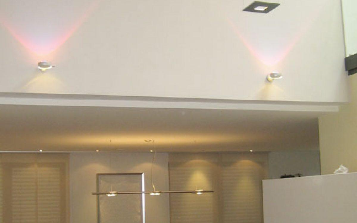 Lichtkonzept Villa: Raumansicht