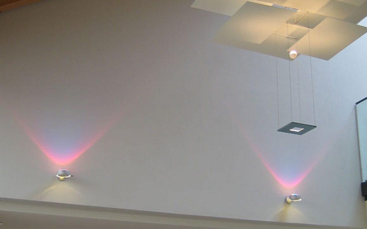 Lichtkonzept Villa: Decken- und Wandleuchten