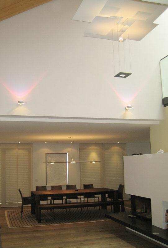 Lichtkonzept für Villa