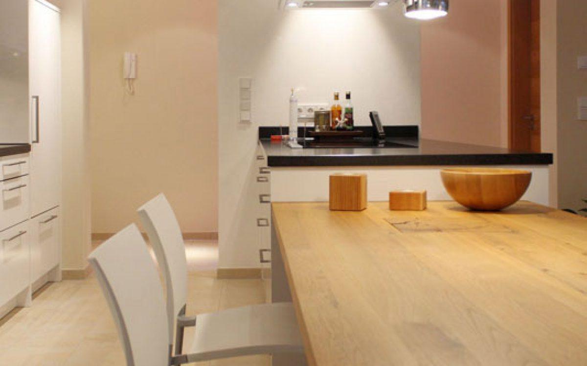 Innenarchitektur Privatwohnung: Moderne Küchenplanung