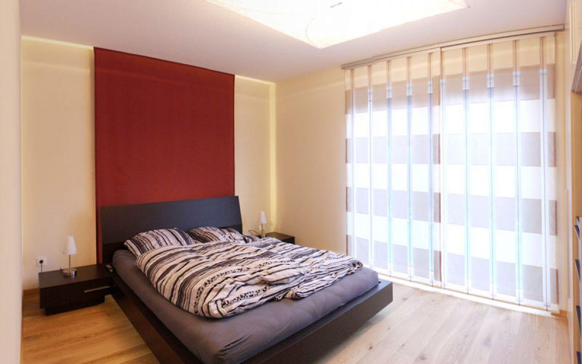 Innenarchitektur Privatwohnung: Schlafzimmer Neugestaltung