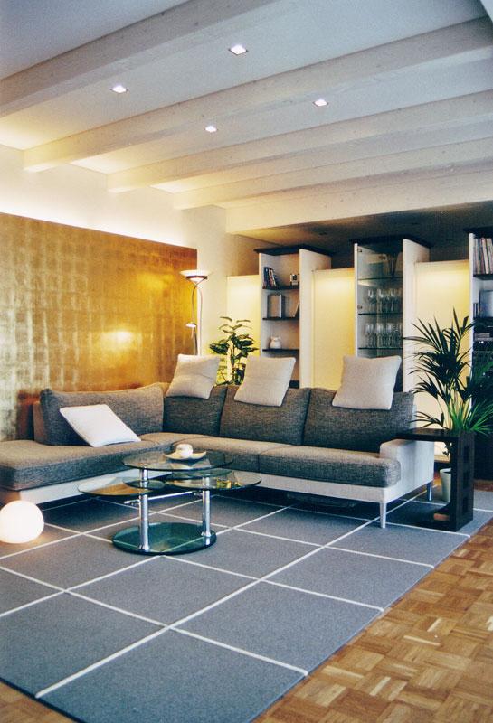 wohnzimmer mit galerie innenarchitektur wohnraum. Black Bedroom Furniture Sets. Home Design Ideas