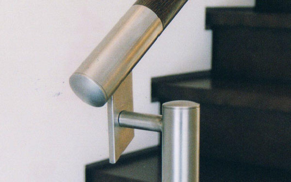 Innenarchitektur Wohnraum: Detail Treppengeländer