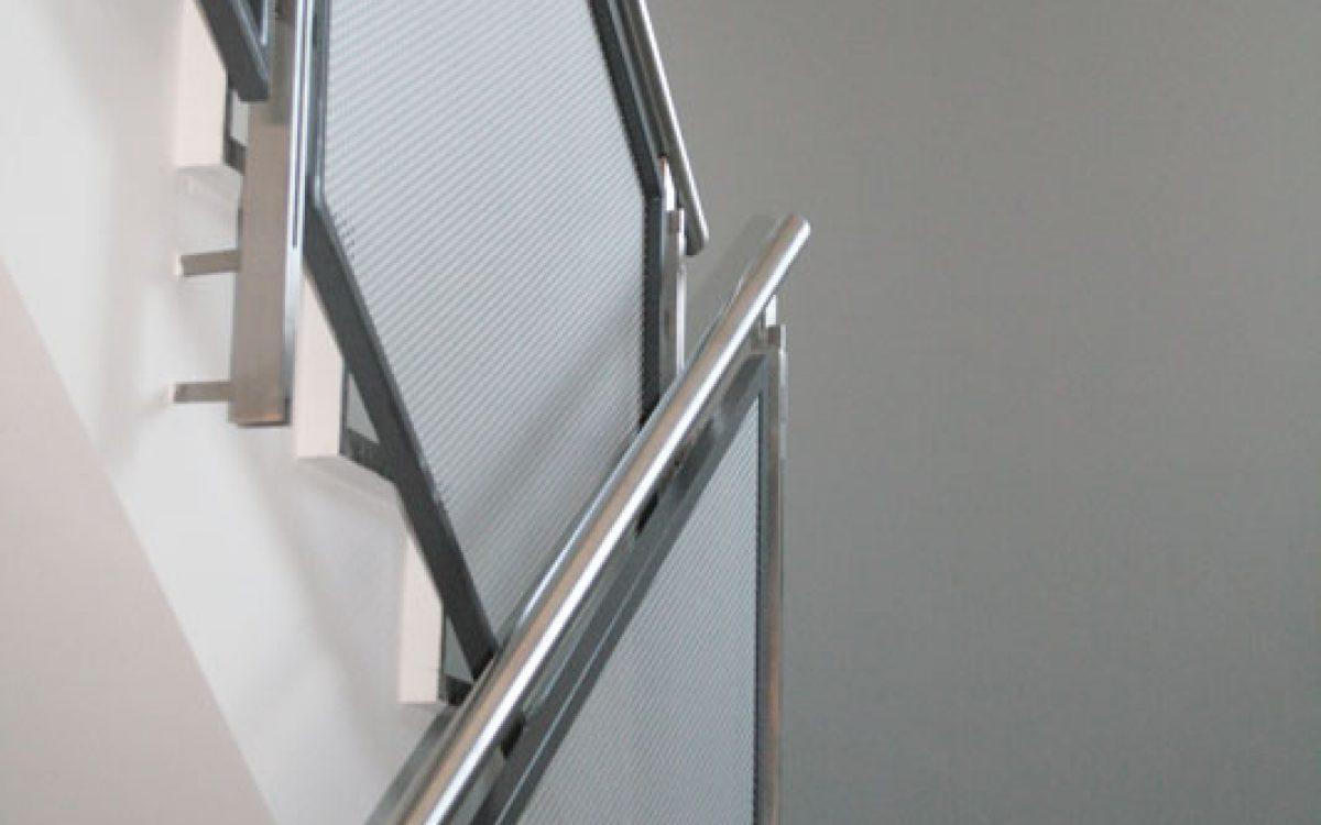 Renovierung Bürogebäude: Treppenhaus