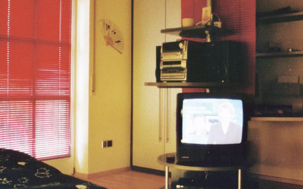 Einrichtung Jugendzimmer: TV- und Audioturm