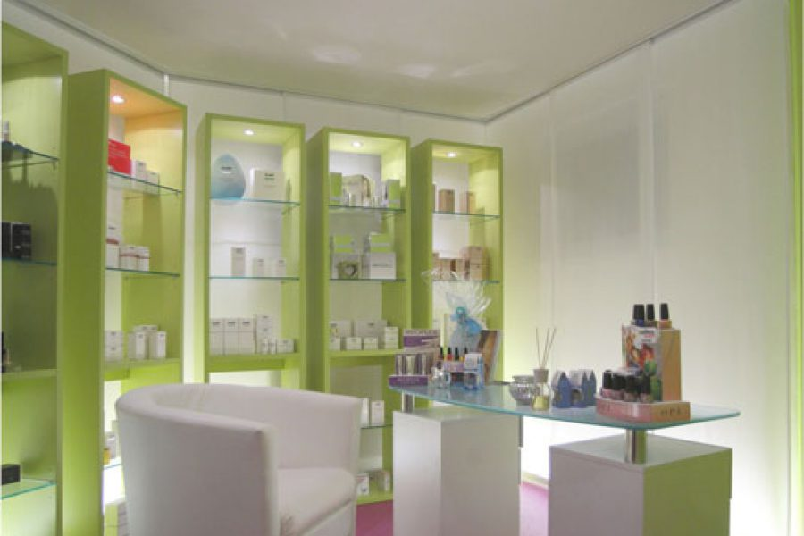Innenarchitektur Kosmetikstudio