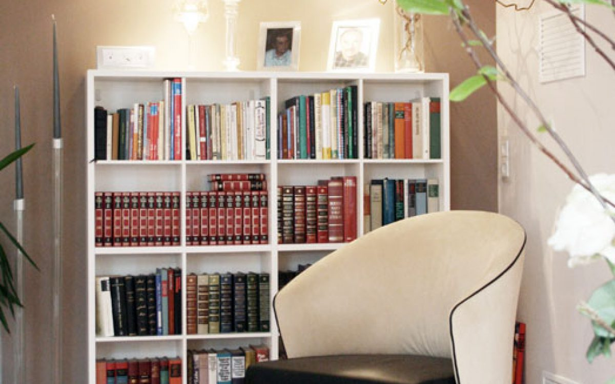 Gesamtkonzept Wohnzimmer: Leseecke