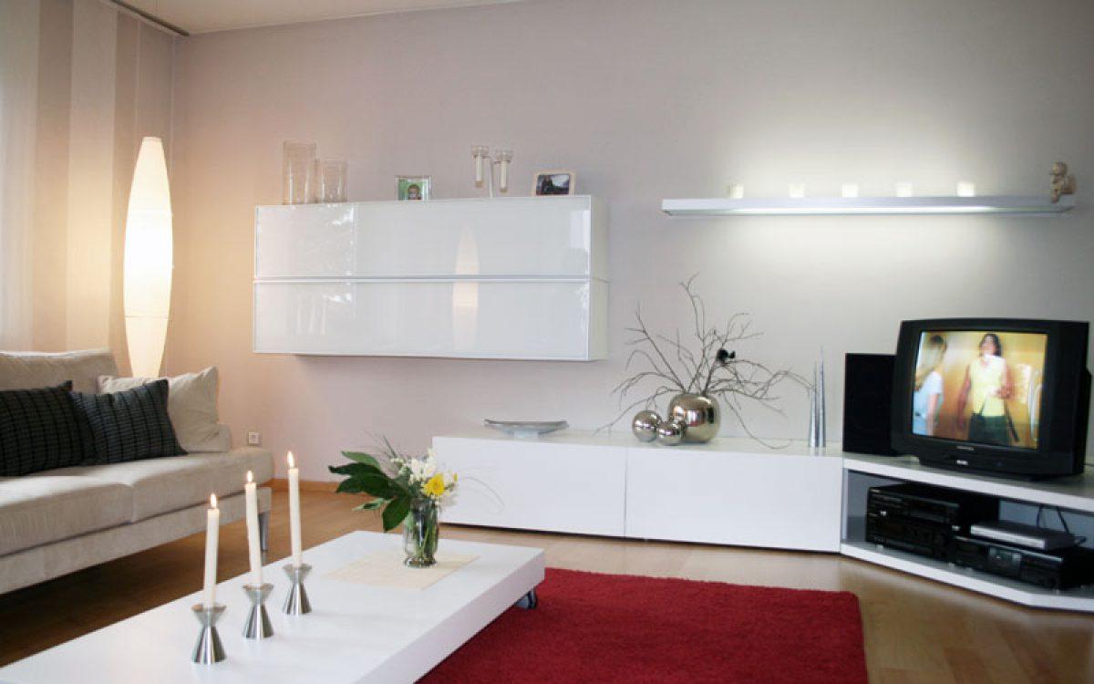 Gesamtkonzept Wohnzimmer: Möblierung