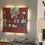 Portfolio: Einrichtung Wohnzimmer mit individuellem Wandregal